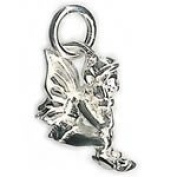 Perfectcharm Fairy Charm - Sterling Silver With Lobster Clasp