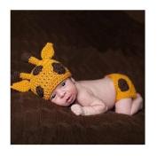 Axiba Cute Newborn Baby Girl Boy Infant Costume Crochet Outfits Photograph Props