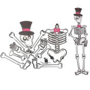 Cido Halloween Paper Party Hanging Decorations Ghost Vampire Skull Skeleton DIY Toys