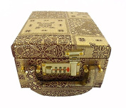 Indian Exclusive Hand Made Jewellery Box Size:- (Inche)6x8x3.75