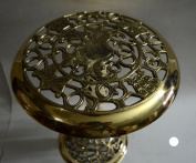 Indian Hand Made Exclusive Brass Stool folding Size:- (Inche)13x12x12