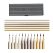 IMISNO Sketching Art Pencil Kit Beginner Plastic Drawing Pencils for School Stationery 3Colors Pack of 24pcs