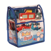 Meadow Kids MK195 Bath Time Play And Build - Build A Boat