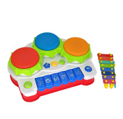 Music Toys Animal Farm Piano And Hand Beat Drum Xylophon high quality toddler toy - music instrument - enhances your child's sense of touch and hearing