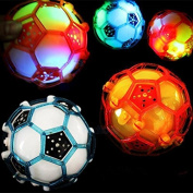 DPNY Jumping Joggle Bopper Flashing Light Up Bouncing Sound Kid Vibrating Toy Ball