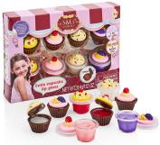 S & Li Cosmetics Cutie Cupcake 8 Piece Lipgloss Set