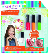 Make it Real 2321 Paint and Sparkle Nail Art Graphic Jungle Set