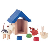 Plan Toys Pets and Accessory Set