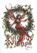 Mistletoe Fairy Briar Yule Card