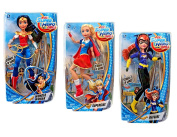 DC Super Hero Girls Wonder Woman Bat Girl and Super Girl Set of 3 12 Doll by DC Super Hero Girls