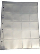 Coin Storage Multi Punched Album pages 20 Section