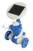Solarbot - 6 in 1 Construction Kit - Solar Powered Robot, Airboat, Helicopter, Plane, Trike or Windmill