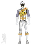 Power Rangers Dino Super Charge 30cm Dino Drive Silver Ranger Action Figure
