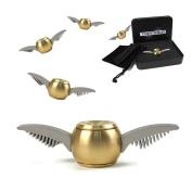 Tornado Fidget Spinner - Golden ball v1 - Brass Paper Weight - Angel Orb - Stress Relief Spinner for Adults and Children