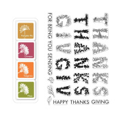 Hero Arts Colour Layering Thanksgiving - Stamp and Ink Set