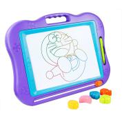 BATTOP Big Size Kids Drawing Board, Magnetic Colourful Erasable Skill Development Drawing Board Blackboard For Baby/Kids/Children