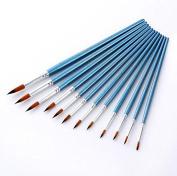 HUAJI Nylon Watercolour Pen Painting Pen Set Kit