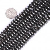"""Natural Coin Magnetic Hematite Healing Stone Heishi Spacer Beads for Jewellery Making 15"""""""