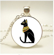 Egyptian Cat Gods Pendant , Necklace ,For Women Dress Jewellery