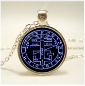 Alchemical magic sign pendant, Alchemical magic sign necklace, Alchemical jewellery