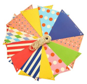 Set of 2 Lovely Party Banners Pennant Banner Party Supplies
