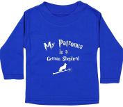 Hippowarehouse My Patronus Is A German Shepherd baby unisex t-shirt long sleeve