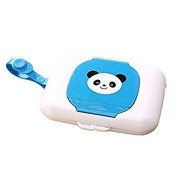 Whobabe Cartoon Portable Baby Wet Tissue Box Travel Wipes Case For Baby