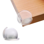 QHGstore Baby Caring Corner Guards 1Pcs Premium Clear Corner Protectors Safety Furniture Bumpers Long Lasting Angle Guard