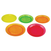 Munchkin Multi-coloured Baby Food Plates - Pack of 5