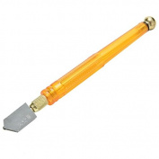 Skidproof Handle Steel Blade Glass Cutter Diamond Tipped Household Cutting Tool