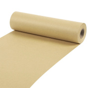 Kraft Paper Roll - For Craft, Gift Wrapping, Packing, Shipping - 30m Long, Brown, 25cm x 3050cm