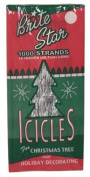 Brite Star Tinsel Icicles, Silver, 3 Packages, 1000 count each