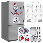 Wow! Imagination Large 80cm Magnet Animated Figure Snowman Creative Set