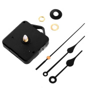 Kicode With Black Hook Continuous Sweep Quartz Clock Movement DIY Repair Parts