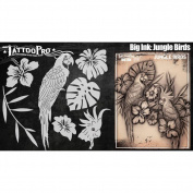 Tattoo Pro Stencils Big Ink - Jungle Birds
