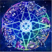 DIY 5D Diamond Painting by Number Kits, Full Drill Crystal Rhinestone Diamond Embroidery Paintings Pictures Arts Craft for Home Wall Decor, Constellations