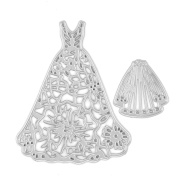 Lace Dress Metal Cutting Dies for DIY Scrapbooking Decor Card Making Supplies Crafts