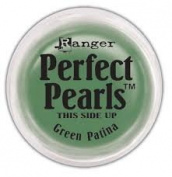 Ranger Perfect Pearls Pigment Powder 5ml - Green Patina