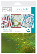 Gina K. Designs Fancy Foil 15cm x 20cm Sheets 12 sheets per pack