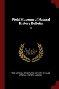 Field Museum of Natural History Bulletin