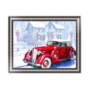 Aixia Christmas Car DIY 5D Diamond Embroidery Painting Cross Stitch Craft Home Decor