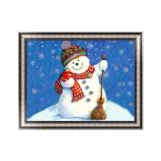 Aixia 5D Diamond Painting Christmas Snowman Embroidery DIY Cross Stitch Home Decor Hot