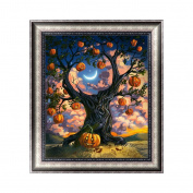 Aixia Halloween Tree DIY 5D Diamond Embroidery Painting Cross Stitch Craft Home Decor