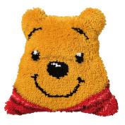 Disney's Winnie The Pooh Shaped Cushion Latch Hook Kit