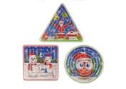 12 x Christmas Maze Puzzle