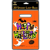 20 x Halloween Spooky Loot Bags Party Bags