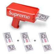 Party Fun Toys Supreme Spray Money Gun Cash Cannon Shoot Gun, Webeauties Spray Money Gun Toys Gun For Party Game
