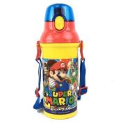 Super Mario dishwasher-adaptive direct drink plastic one-touch bottle 375880 (PSB5SAN) 480 ml Super Mario 17/ Mario Brothers / Luigi / water bottle / kids / lunch goods / lunch goods / Nintendo / Nintendo / skater