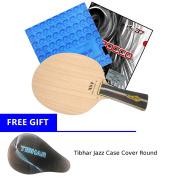 Table Tennis Racket XVT ZL-KOTO (Zylon-Carbon) + Rubber Kokutaku 868 Spin Power + Air Scirocco
