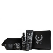 Zeus Everyday Beard Grooming Dopp Kit - Men's Quality Personal Care Beard Set with Toiletry Bag! (Scent